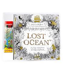 Luxor Lost Ocean Colouring Book Stripen Box Buy Online At Best