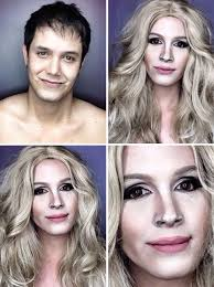 does makeup to look like diffe celebrities the man who is being a pro at celebrity makeup transformations filipino tv host paolo ballesteros