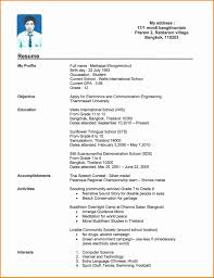 College Resume Format Best Resume Samples For College Students Free Download Valid Resume