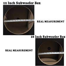 sub woofer box double subwoofer box Straight hole MDF board