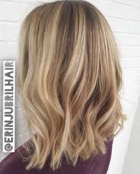 bage blonde lob by erin jubril at aura hair makeup sandy springs