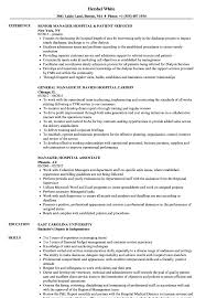 Hospital Resume Sample Hospital Manager Resume Samples Velvet Jobs 22