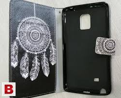 flip pu leather case wallet cover for samsung galaxy note edge n9150