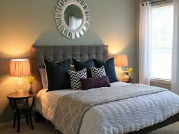 guest room furniture. Enticing Guest Bedroom With Grey Tufted Bedding Sets Room Furniture