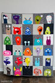 Monster Applique Quilt - Swoodson Says & monster-applique-quilt-craftsy-class Adamdwight.com