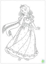 Princess Snow White Coloring Pages Iifmalumniorg