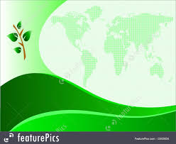 Green Card Template Templates Green Business Card Template Stock Illustration