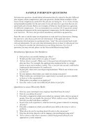 100 Interview Questions Template Form Interview Template