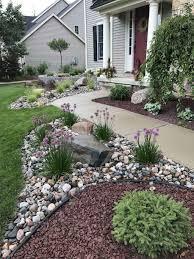Design A Rock 65 Gorgeous Front Yard Rock Garden Landscaping Ideas Rock