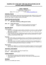 Examples Of Resumes Amazing How To Write Brefash Within 79 An Resume