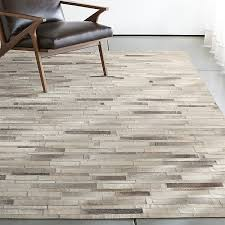 cow hide rugs incredible ewing rug crate and barrel intended for 5