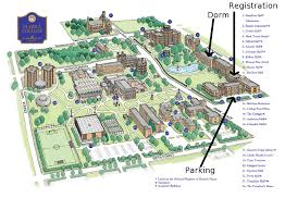 illinois state university campus map  college visits  pinterest