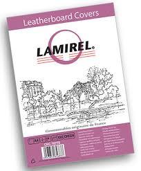 <b>Lamirel</b> Delta A4, Green <b>обложка</b> для переплета (100 шт)