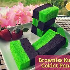 Resep Kue Bolu Kukus Coklat Pandan Trendy Resep Bolu Kukus Coklat