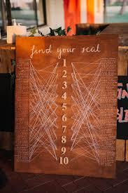 Diy Wood String Seating Chart Wa Weddings