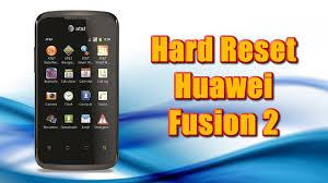 Reset (resetear) Huawei Fusion 2 U8665 ...