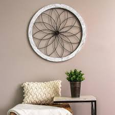 stratton home decor flower metal and