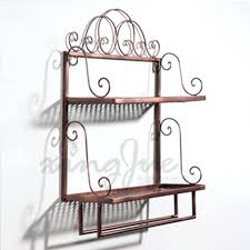 wrought iron bathroom shelf. Wrought Iron Wall Shelves Bathroom Shelf Bags Picture More Detailed About . A