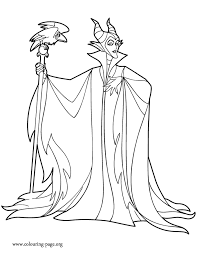 Small Picture Maleficent Coloring Pages To Download And Print For Free