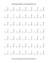 1st Grade Addition and Subtraction Worksheets — proworksheet.com