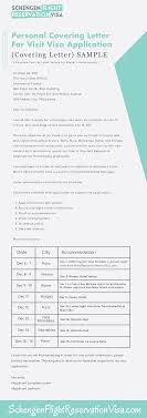 personal covering letter guide and