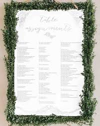 seating chart for wedding reception 25 unique wedding seating charts to guide guests to their tables