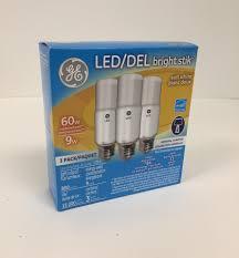Ge Lighting 9w Bright Stik Soft White Led Bulb Ge Lighting 9w Bright Stik Soft White Led Bulb