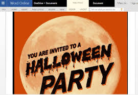 How To Create Invitations On Word How To Make Halloween Party Invitations In Word