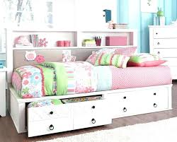 kids full size bed with storage mushome