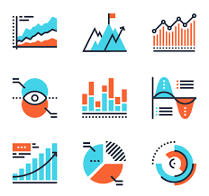 Charts And Diagrams 25 Premium Icons Svg Eps Psd Png Files