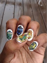 Harry Potter Nail Designs