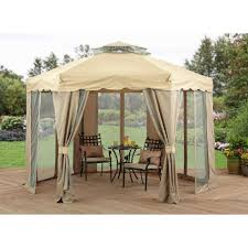 outdoor patio tents. Outdoor Gazebo Canopy 12X12 Patio Tent Curtains Steel Framed Garden Decor Awning #Unbranded Tents O