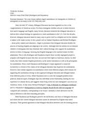 mother tongue annotation a mother tongue annotation paragraph  4 pages selective essay rodriguez and hayakawa a