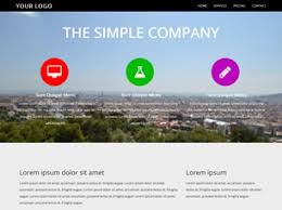 Simple Company Free Website Template Free Css Templates