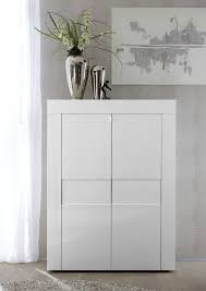 white gloss cabinet. Wonderful White Napoli Two Door High Sideboard  White Gloss Intended Cabinet H