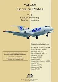 En Route Charts For Yak 40