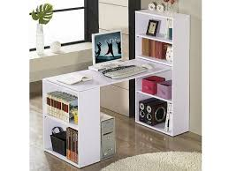 Furniture & Accessories, Home Office Furniture Clearance White Color Diy  Best Desks For Home Office: Processing the Bookcase Desk DIY Design Ideas