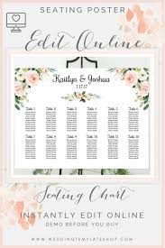 How To Make A Seating Chart Poster 011 Wedding Seating Chart Poster Template Ideas 1920x2879