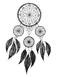 Dream Catchers Sketches Dream Catcher Drawing by Mischa Art and More 73
