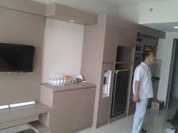 type of furniture design. Apartemen Depok Park View Kitchen Set Type Of Furniture Design