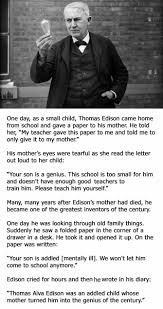 An Inspiring Story About Thomas Edison You Probably Need To Read Now