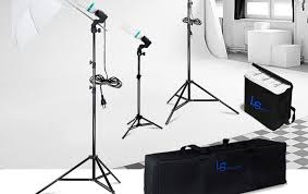 600w photo studio umbrella continuous lighting kit portrait photography