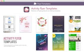 How To Create Flyers Flyer Templates Design By Ca On The Mac App Store