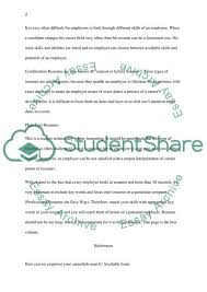 Resume And Cover Letter Construction Essay Example Topics