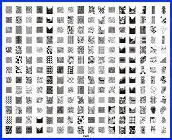 Nail Art Image Stamp Plates РId̩e d'image de beaut̩