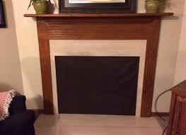 gas fireplace draft stopper how to seal foundation around