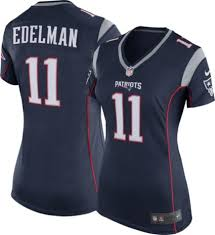 "Patriots 11 Women's Nike New Game Edelman Julian Jersey England Home|What Says ""football Stadium"" More Than Victoria's Secret?"