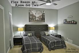 Multi Purpose Guest Bedroom 3 In 1 Flex Room Guest Suite Play Room Room For Two Remodelaholic