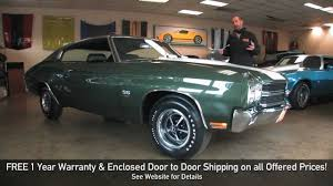 REAL LS6 1970 Chevrolet Chevelle SS 454 for sale with test drive ...