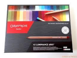 Caran D Ache Luminance Unboxing Color Chart Demo